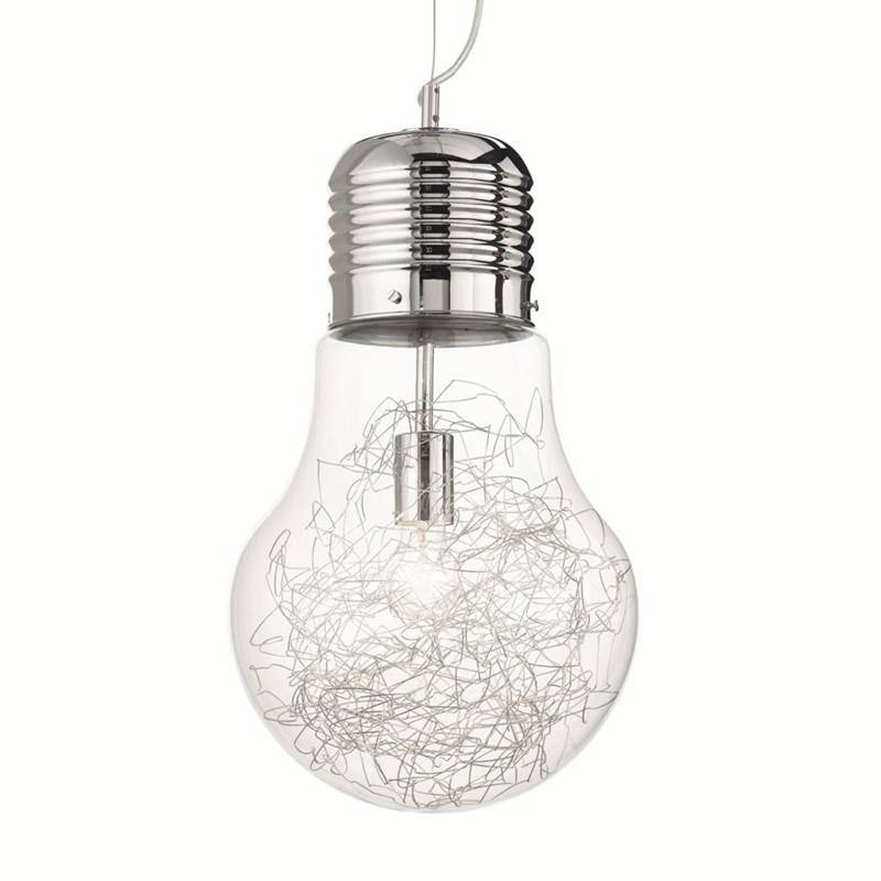 Светильник Ideal lux LUCE MAX SP1 BIG 033662 Luce-maxluce-cromoluce-nickel
