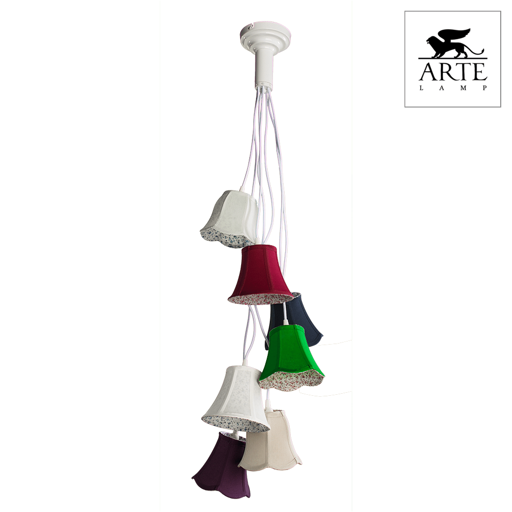Светильник Arte Lamp A9211SP-7WH Provence