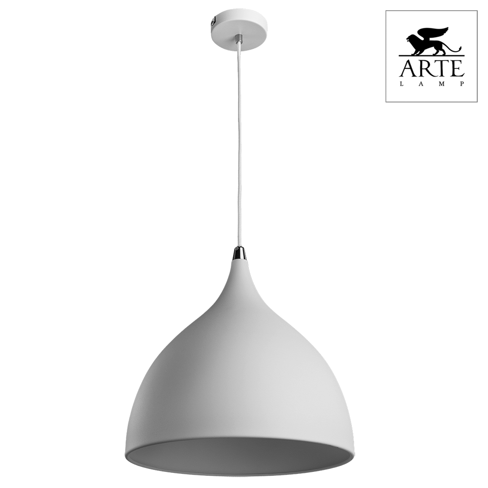 Светильник Arte Lamp A9155SP-1WH Ciclone