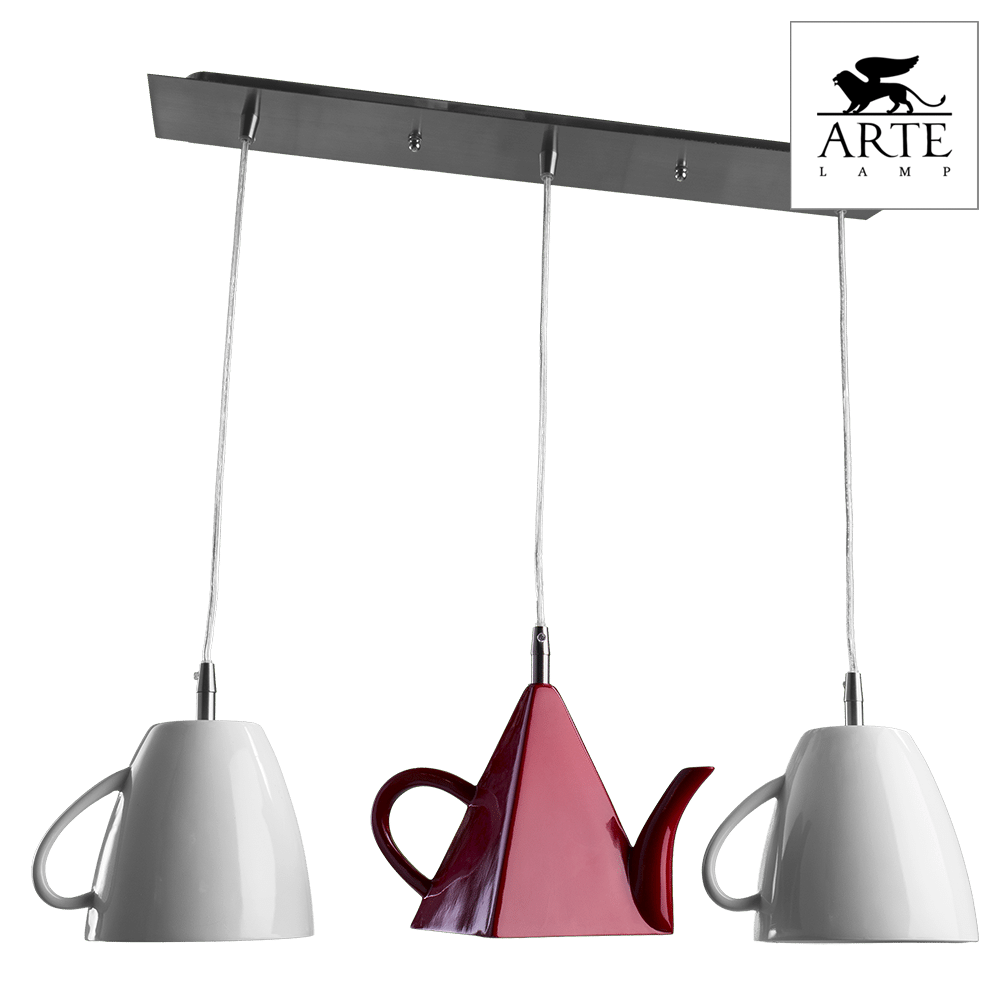 Светильник Arte Lamp A6605SP-3WH Cafeteria