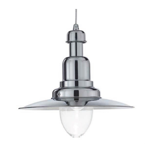 Светильник Ideal lux FIORDI SP1 BIG CROMO 004976 Fiordi